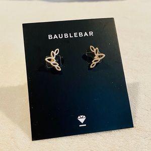Baublebar Caesar Ear Crawler Gold Earrings